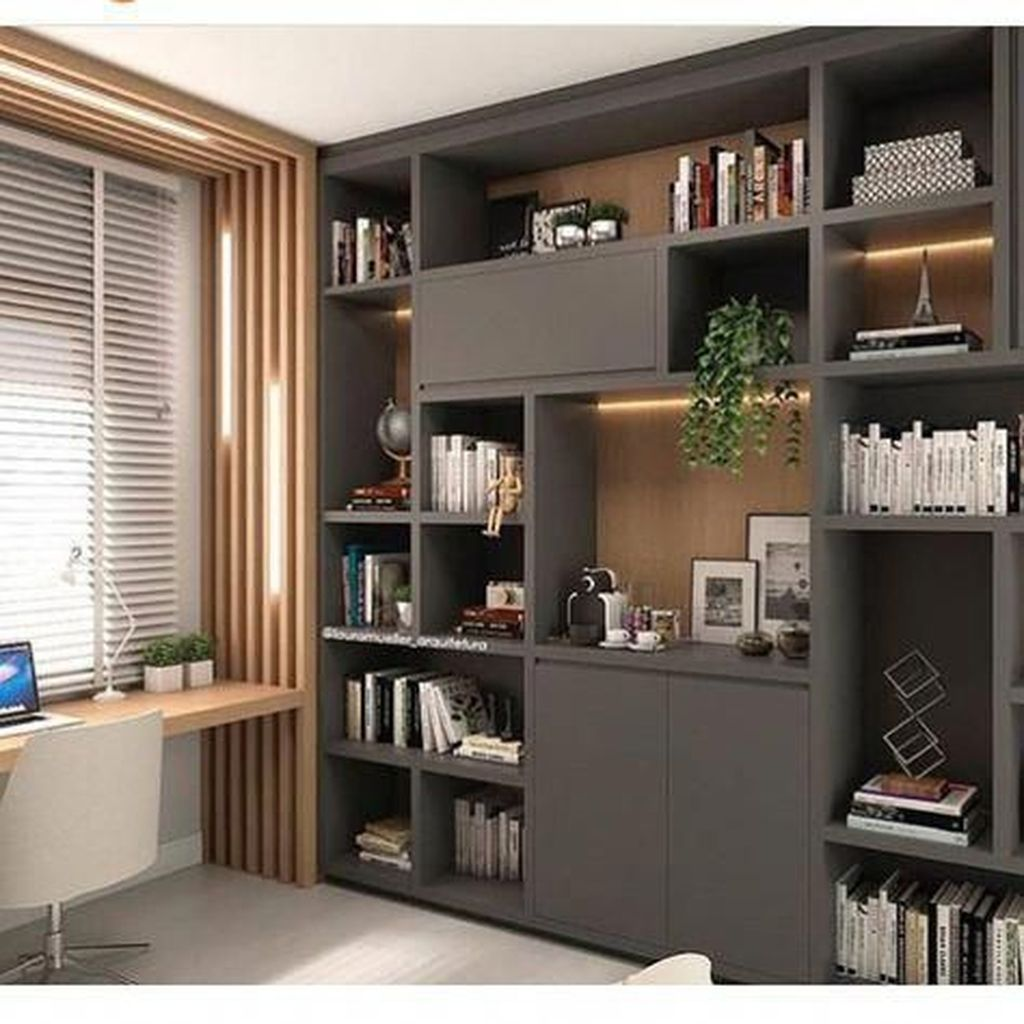 Admirable Modern Home Office Design Ideas That You Like 08