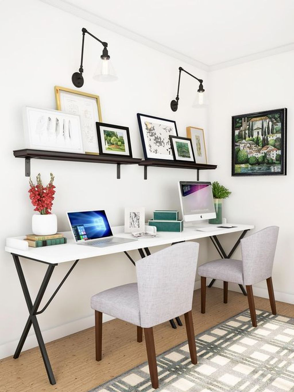 Admirable Modern Home Office Design Ideas That You Like 21