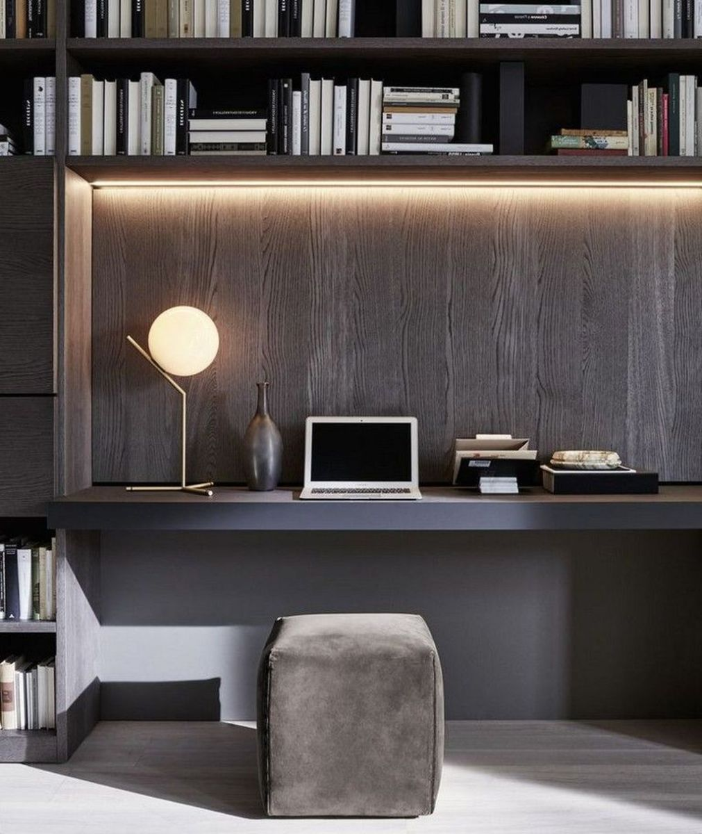 Admirable Modern Home Office Design Ideas That You Like 23