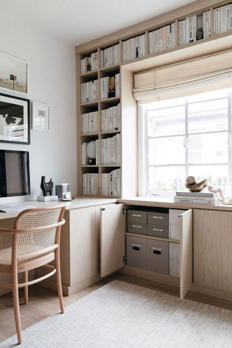 Admirable Modern Home Office Design Ideas That You Like 27