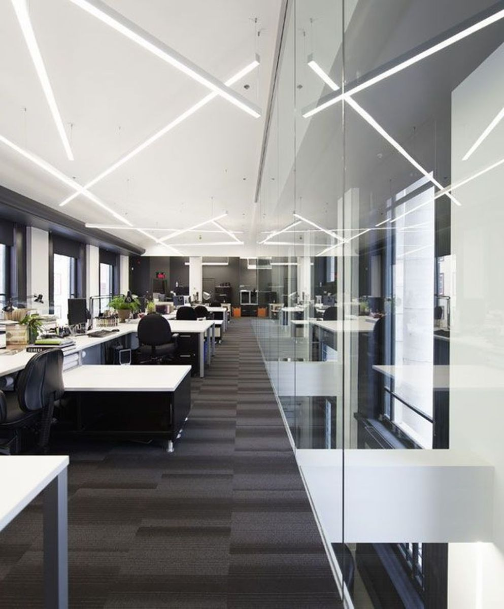 Amazing Open Ceiling Office Design Ideas 04