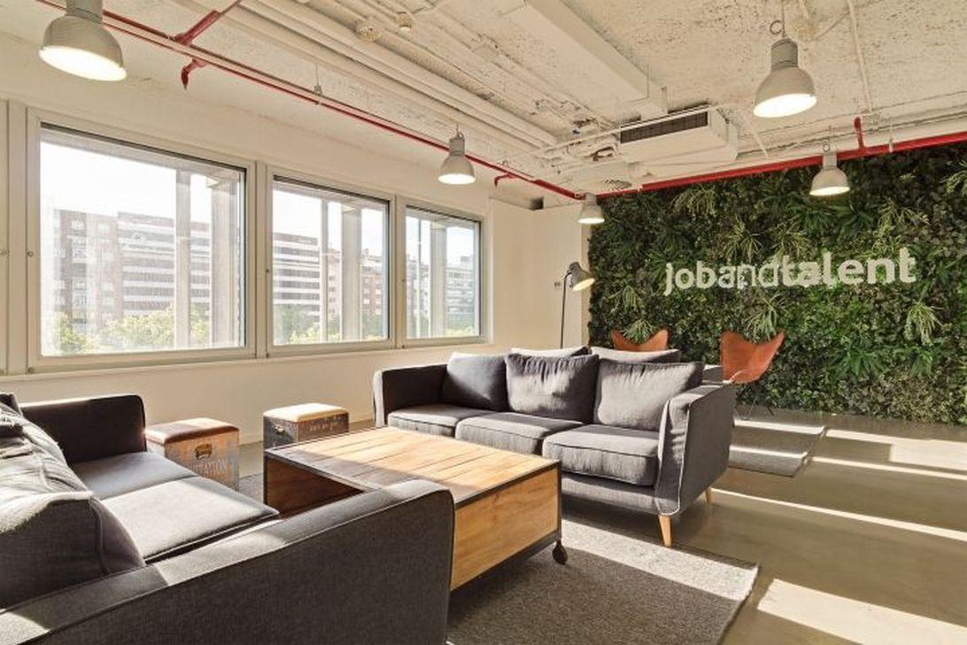 Amazing Open Ceiling Office Design Ideas 14