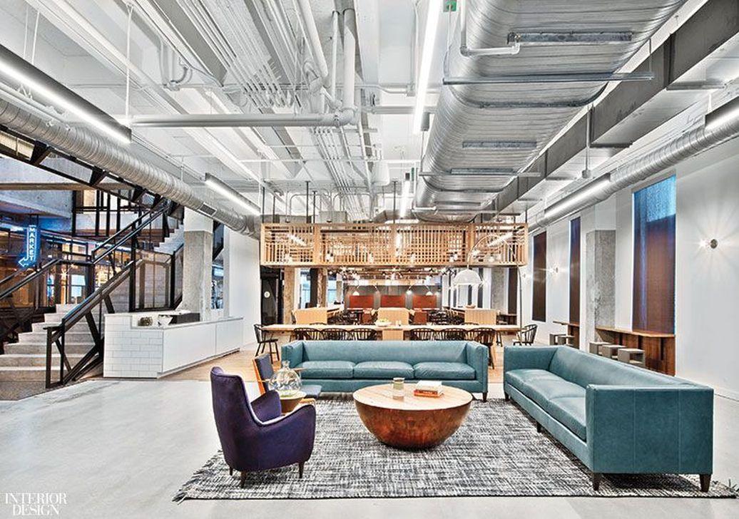 Amazing Open Ceiling Office Design Ideas 18