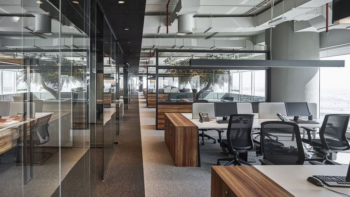 Amazing Open Ceiling Office Design Ideas 20