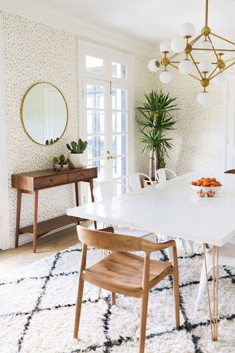 Amazing Wall Mirror Design Ideas For Dining Room Decor 04
