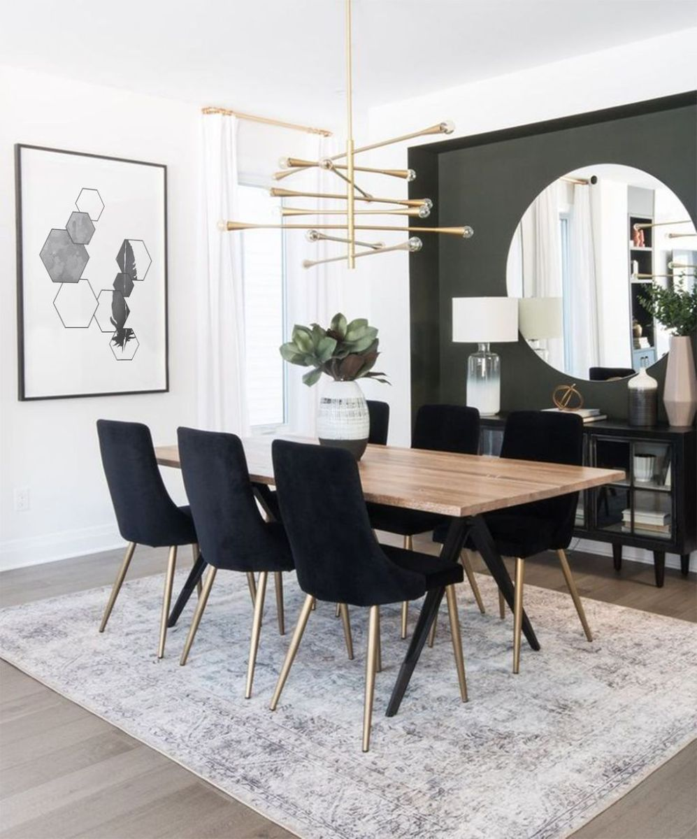 Amazing Wall Mirror Design Ideas For Dining Room Decor 05