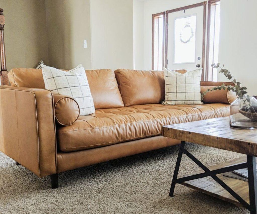 Awesome Leather Sofa Design Ideas 15