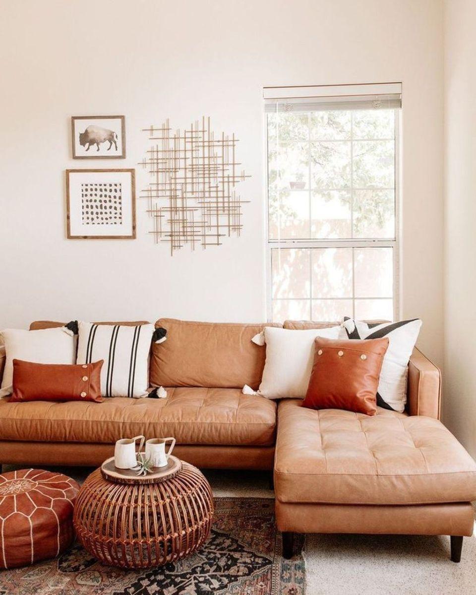 Awesome Leather Sofa Design Ideas 17