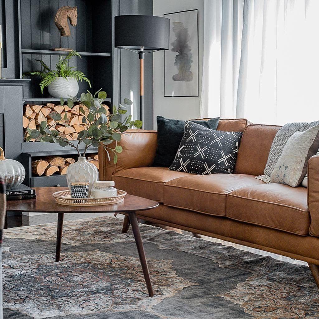Awesome Leather Sofa Design Ideas 24
