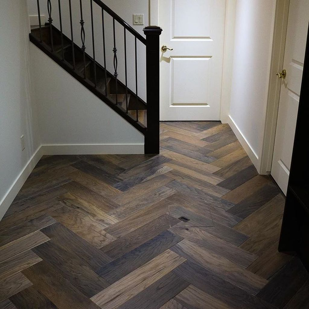 Awesome Wooden Tiles Flooring Ideas 12