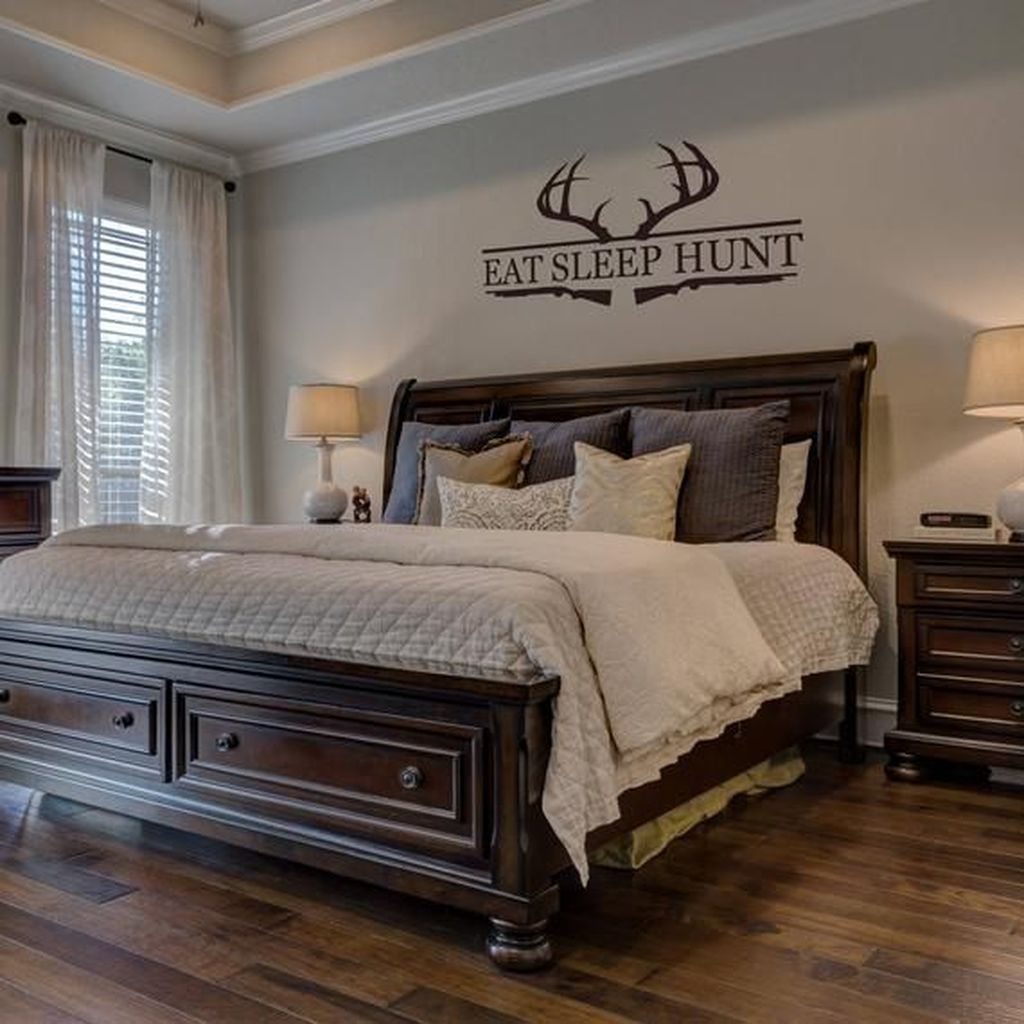 Beautiful Dark Wood Furniture Design Ideas For Your Bedroom 02