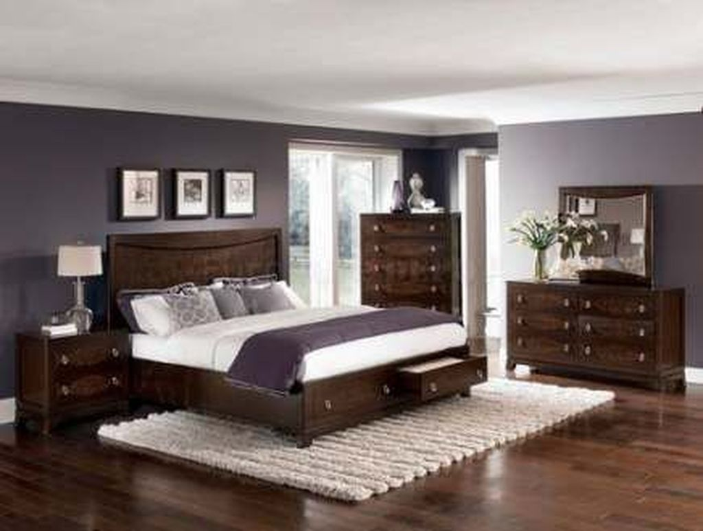 Beautiful Dark Wood Furniture Design Ideas For Your Bedroom 03