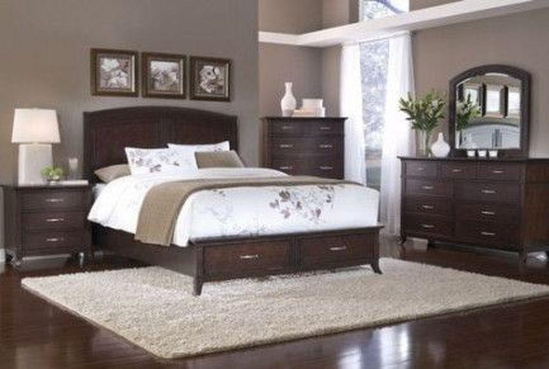 Beautiful Dark Wood Furniture Design Ideas For Your Bedroom 08