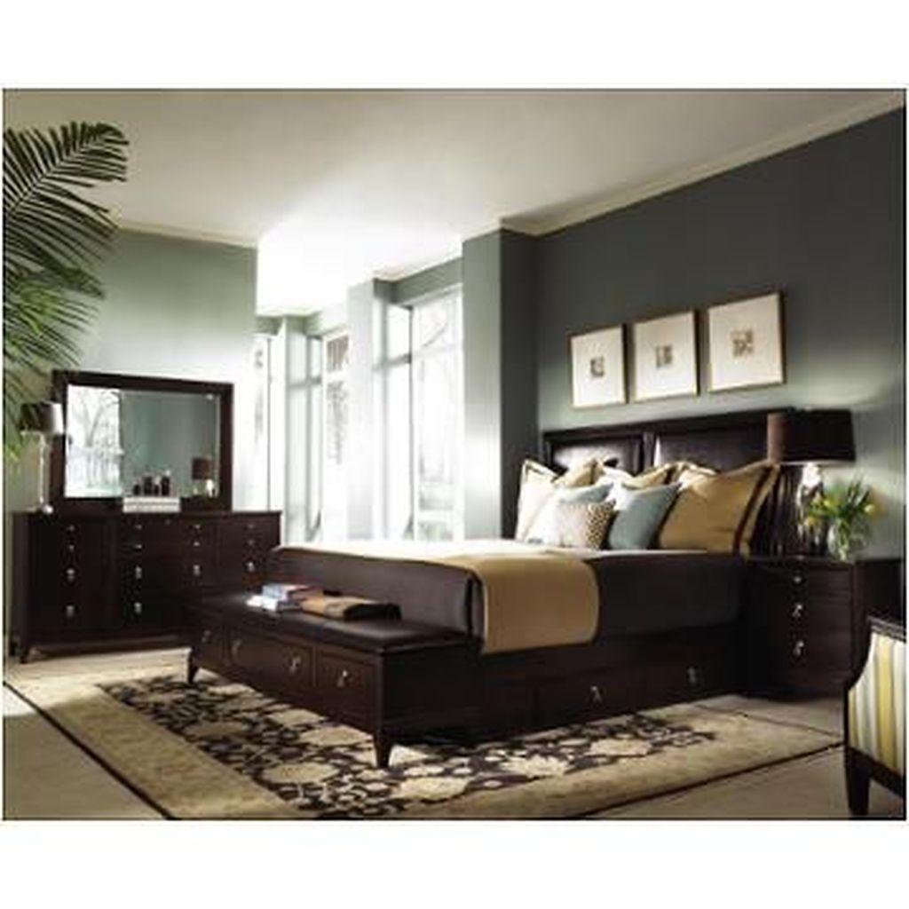 Beautiful Dark Wood Furniture Design Ideas For Your Bedroom 28