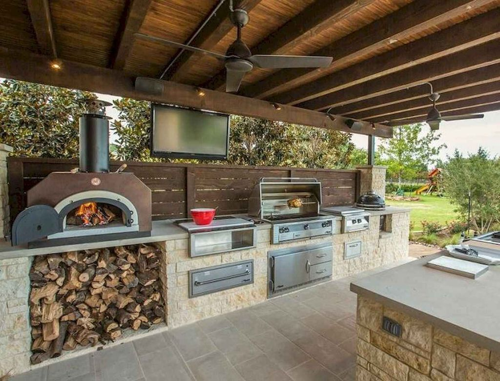 Fabulous Outdoor Kitchen Design Ideas You Must Have 03