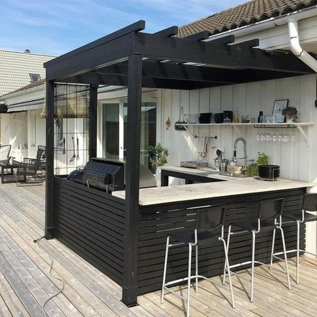 Fabulous Outdoor Kitchen Design Ideas You Must Have 25