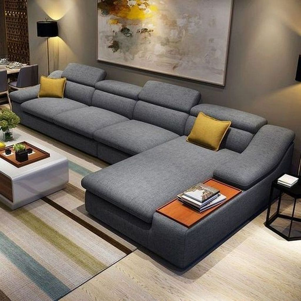 Gorgeous Modern Sofa Designs That You Definitely Like 03