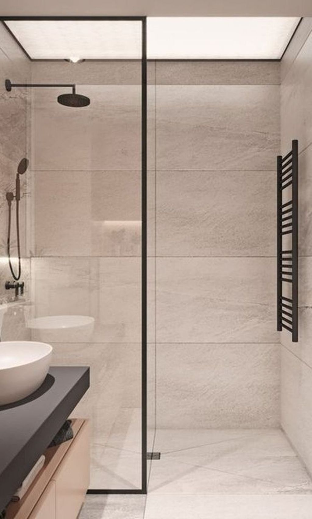 Inspiring Bathroom Tile Showers Design Ideas 10