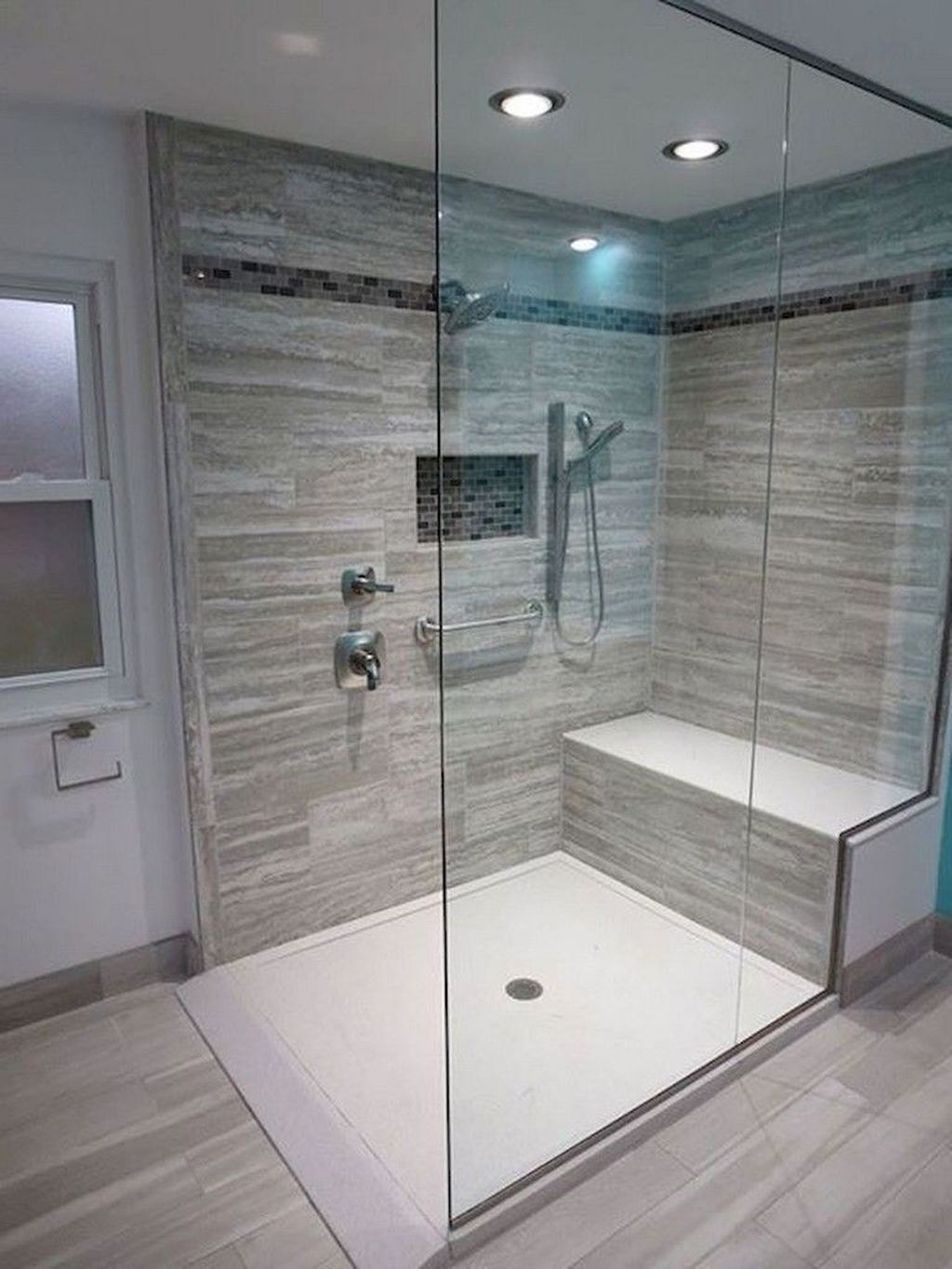 Inspiring Bathroom Tile Showers Design Ideas 14