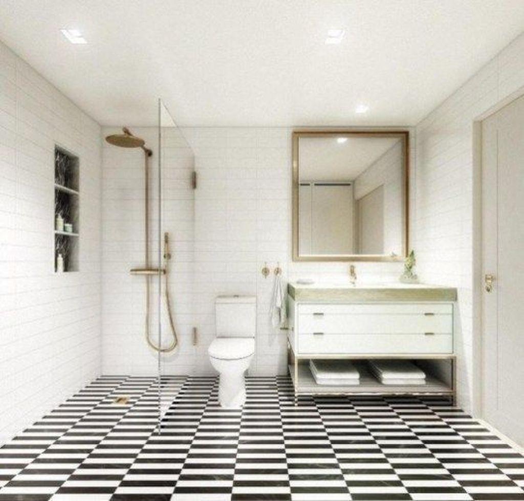 Lovely Bathroom Ceramic Tile Ideas You Should Copy 03