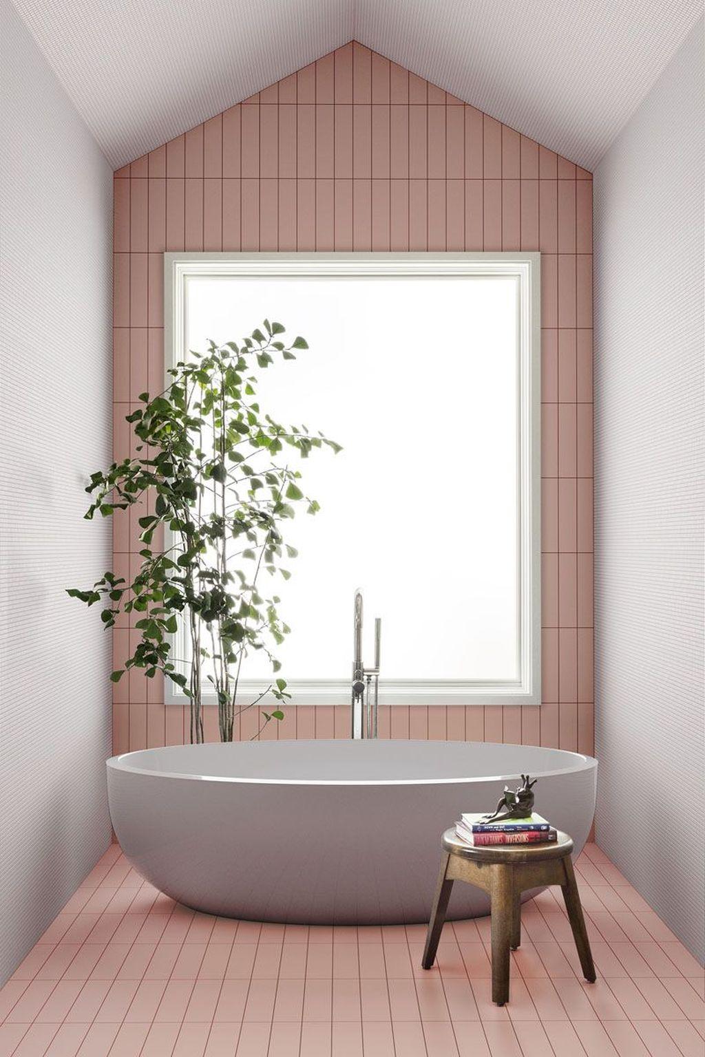 Lovely Bathroom Ceramic Tile Ideas You Should Copy 09