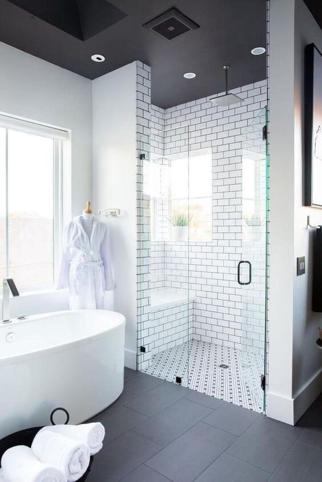 Lovely Bathroom Ceramic Tile Ideas You Should Copy 13