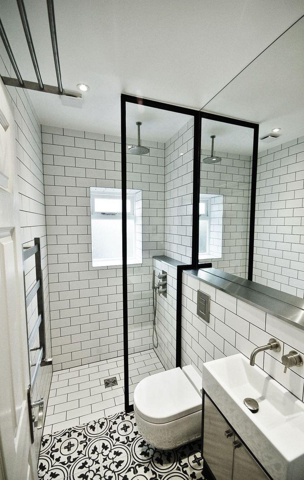 Lovely Bathroom Ceramic Tile Ideas You Should Copy 20