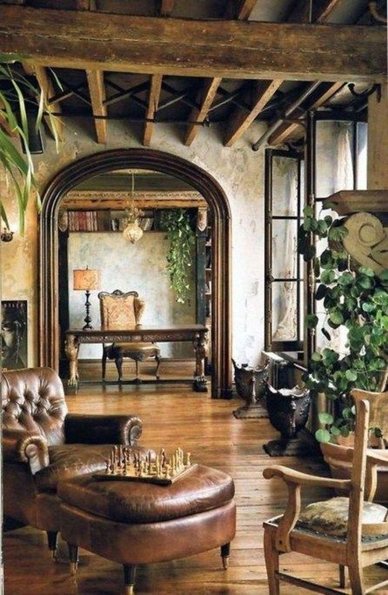 Nice Tuscan Living Room Decor Ideas You Will Love 03