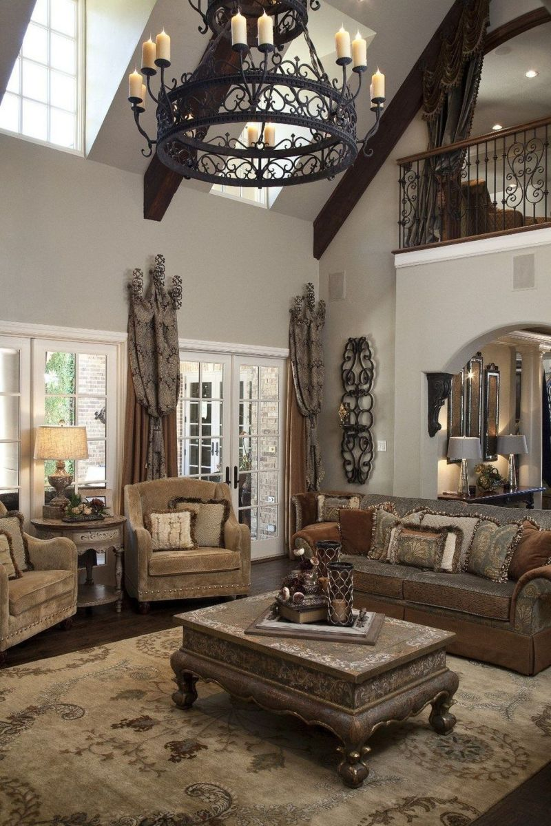 Nice Tuscan Living Room Decor Ideas You Will Love 08