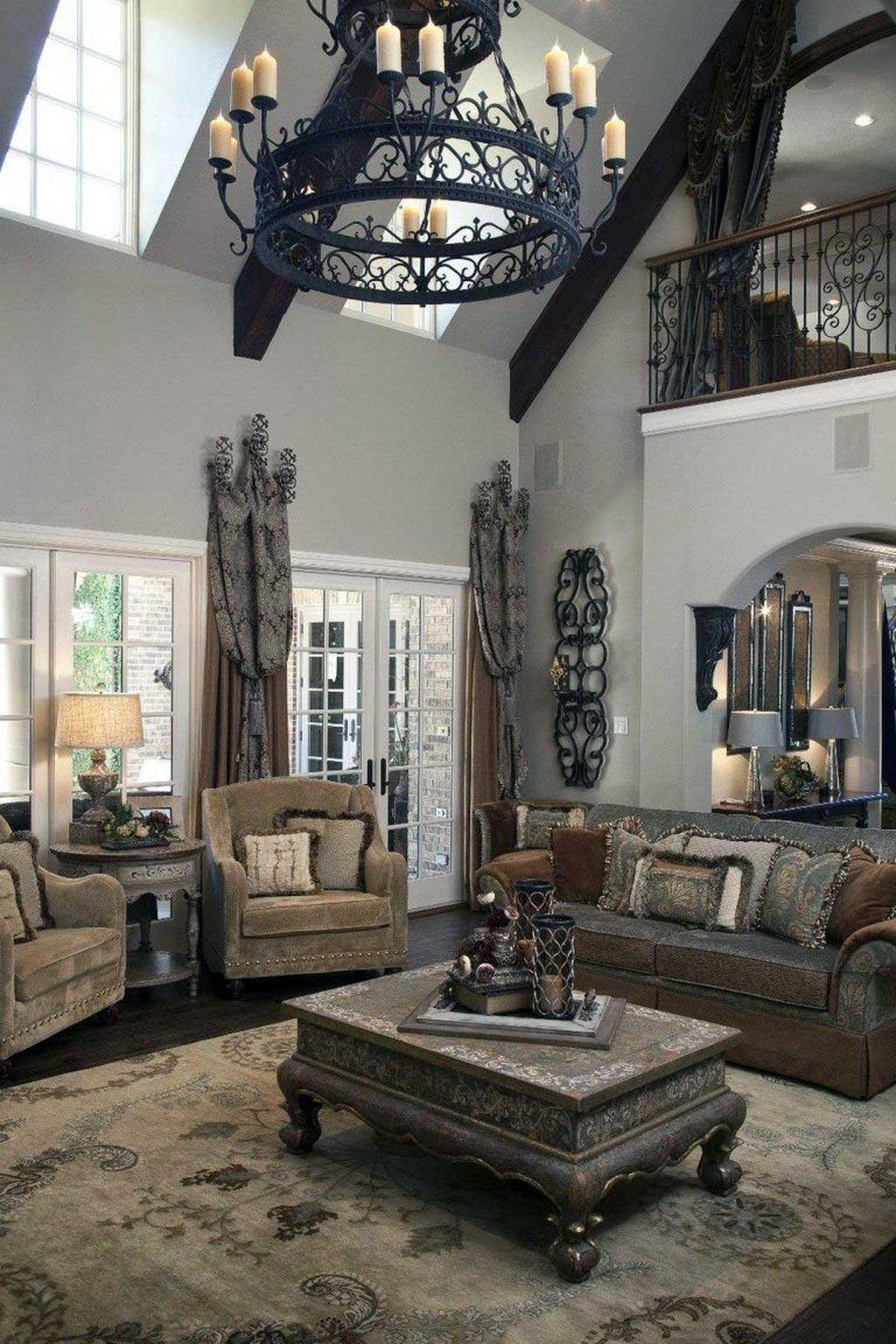 Nice Tuscan Living Room Decor Ideas You Will Love 10