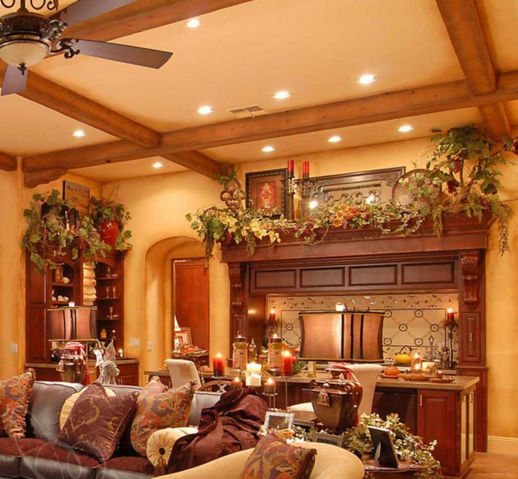 Nice Tuscan Living Room Decor Ideas You Will Love 11