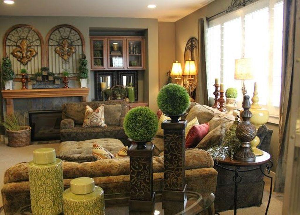 Nice Tuscan Living Room Decor Ideas You Will Love 19