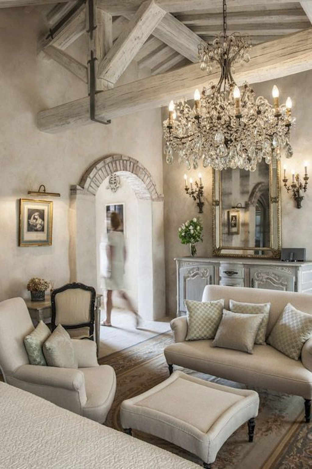 Nice Tuscan Living Room Decor Ideas You Will Love 26