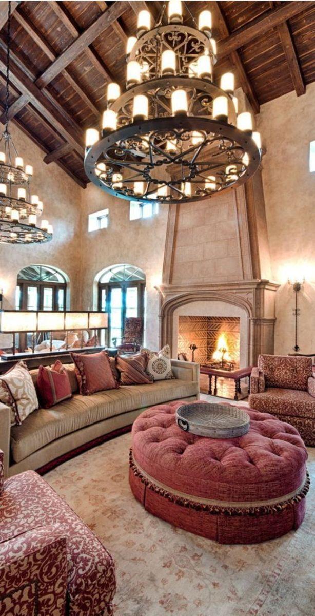 Nice Tuscan Living Room Decor Ideas You Will Love 28