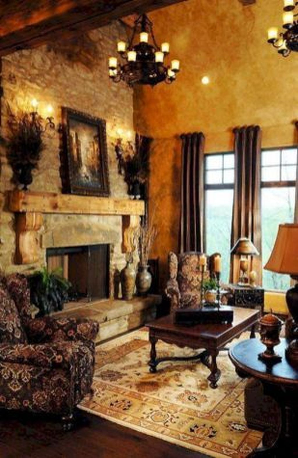 Nice Tuscan Living Room Decor Ideas You Will Love 30