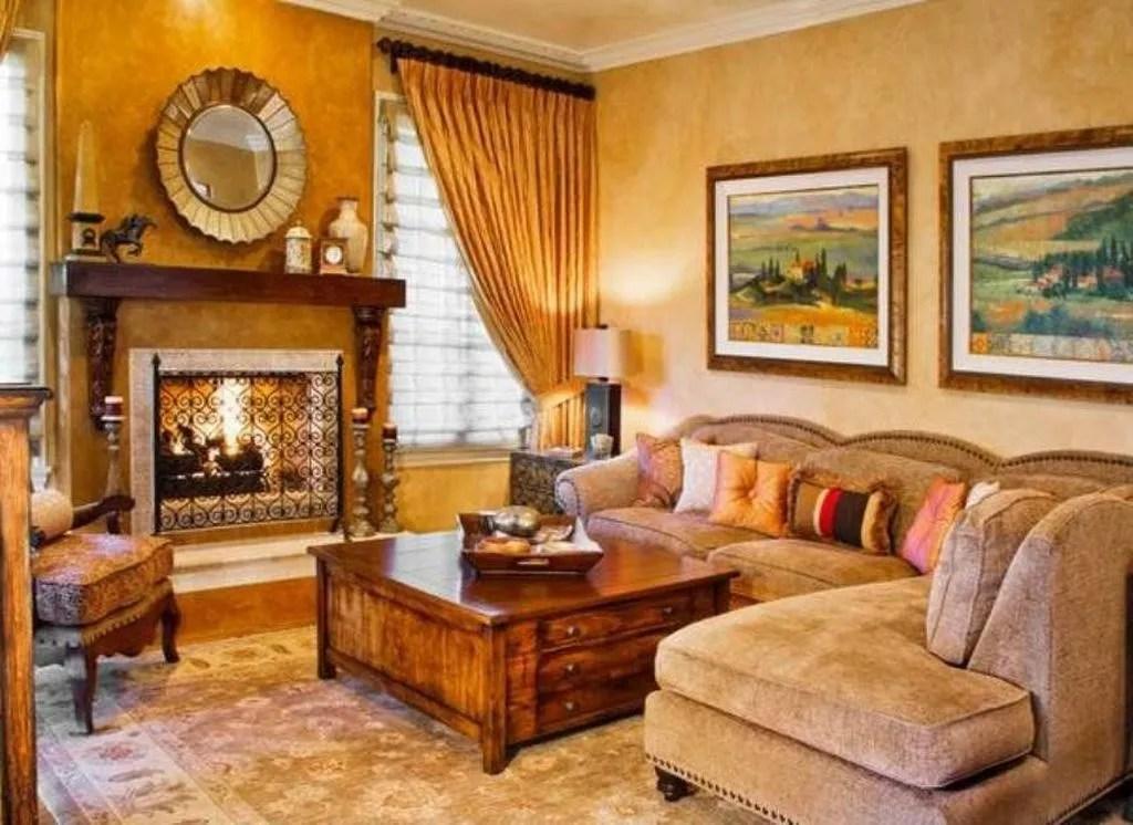 Nice Tuscan Living Room Decor Ideas You Will Love 31