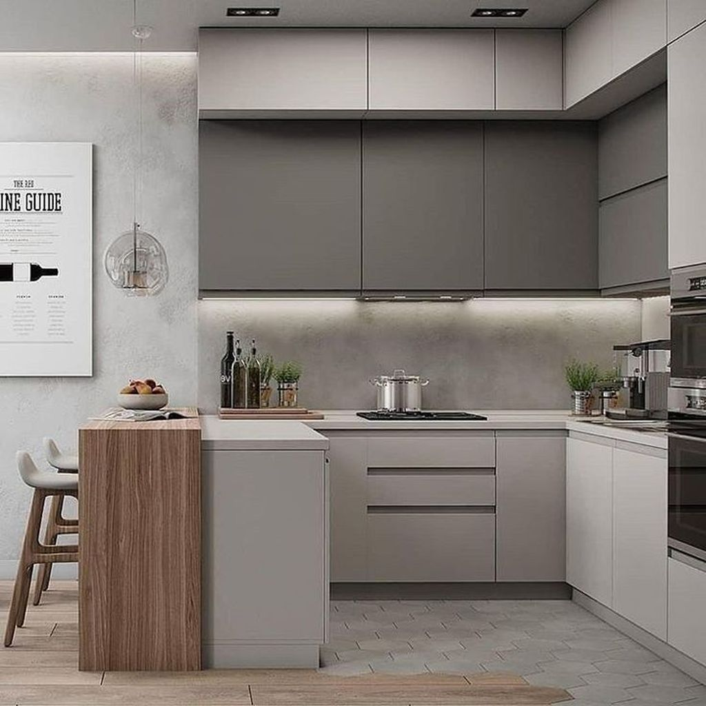 Popular Apartment Kitchen Design Ideas You Should Copy 15