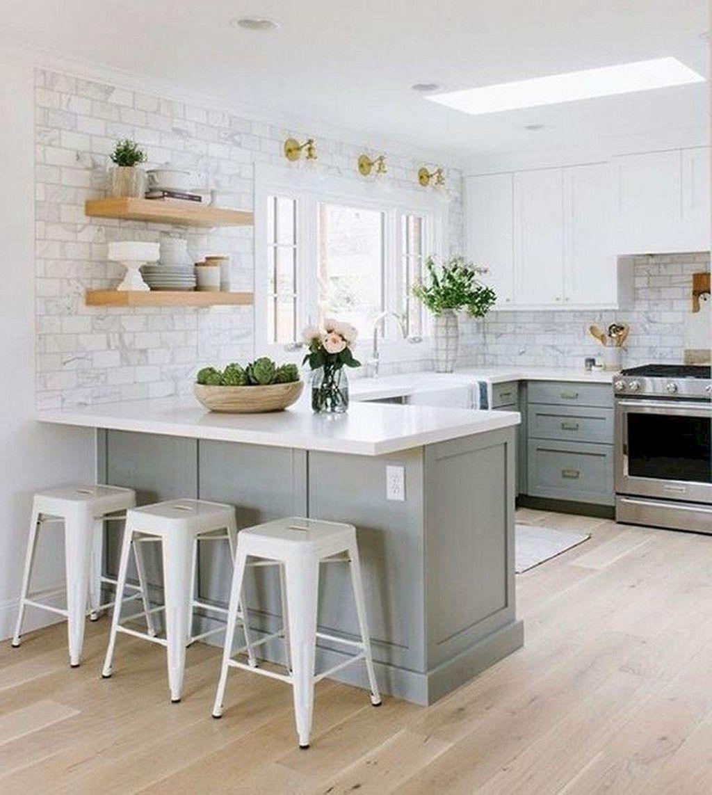 Popular Apartment Kitchen Design Ideas You Should Copy 25