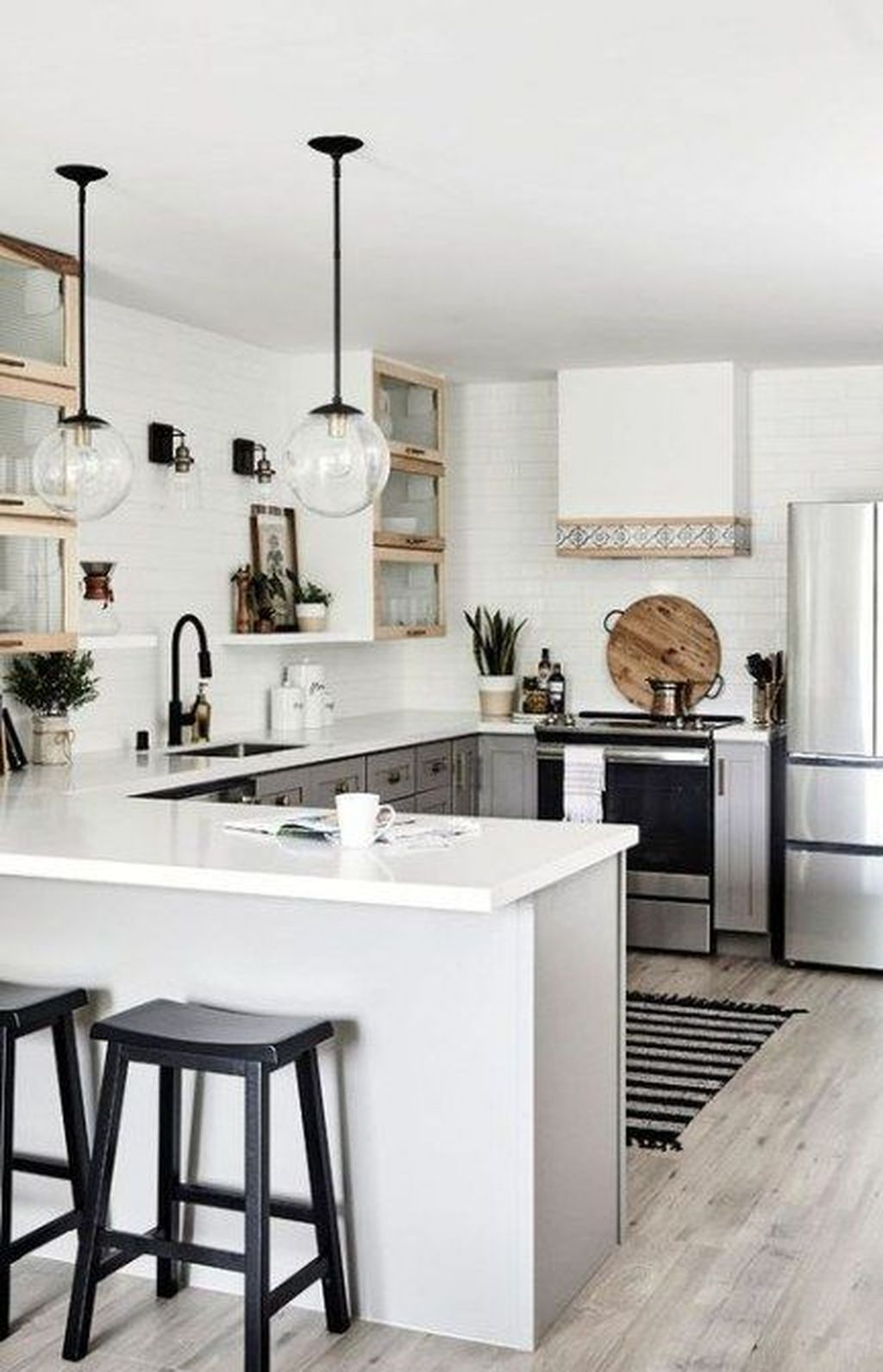 Popular Apartment Kitchen Design Ideas You Should Copy 28