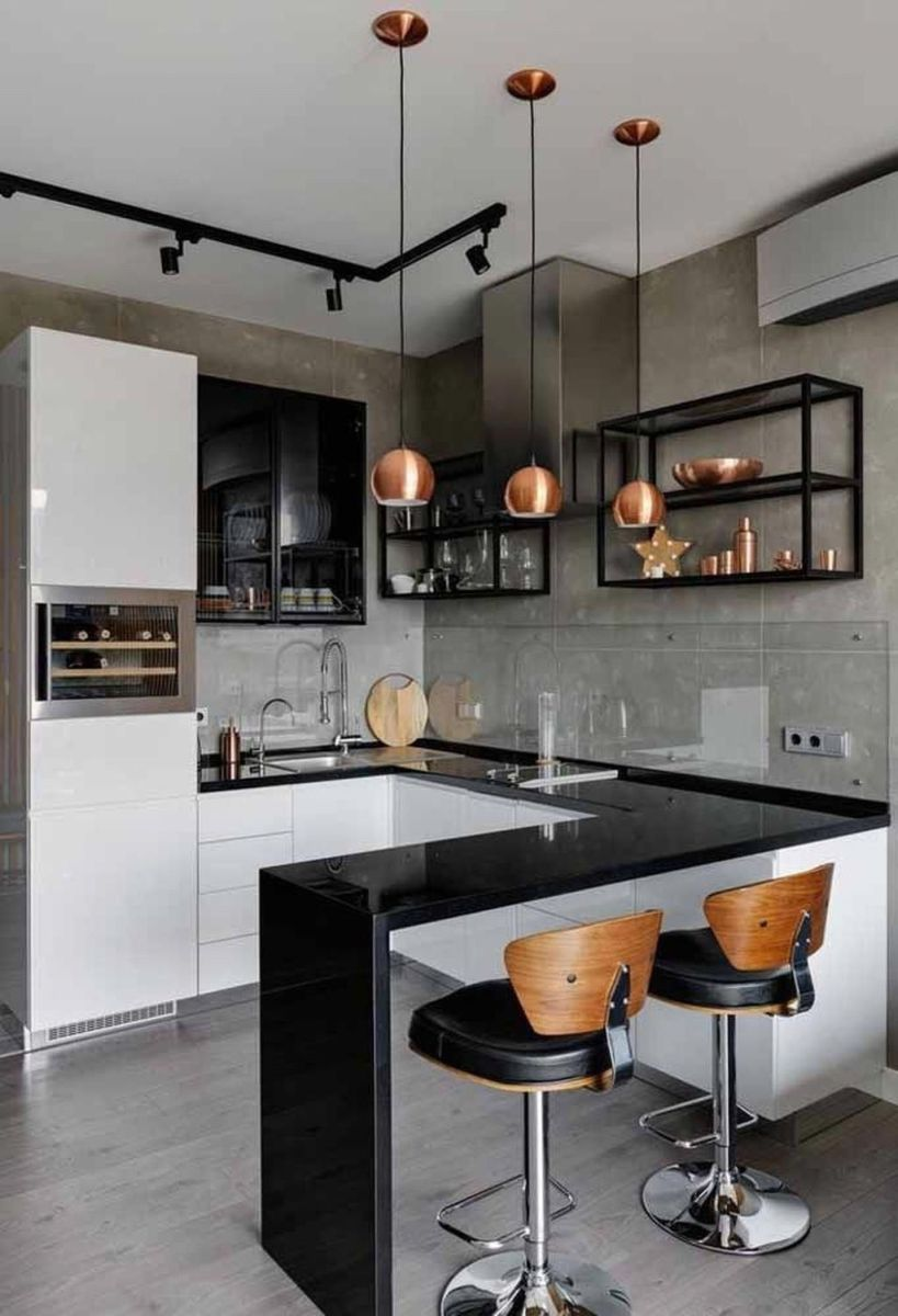 Popular Apartment Kitchen Design Ideas You Should Copy 30