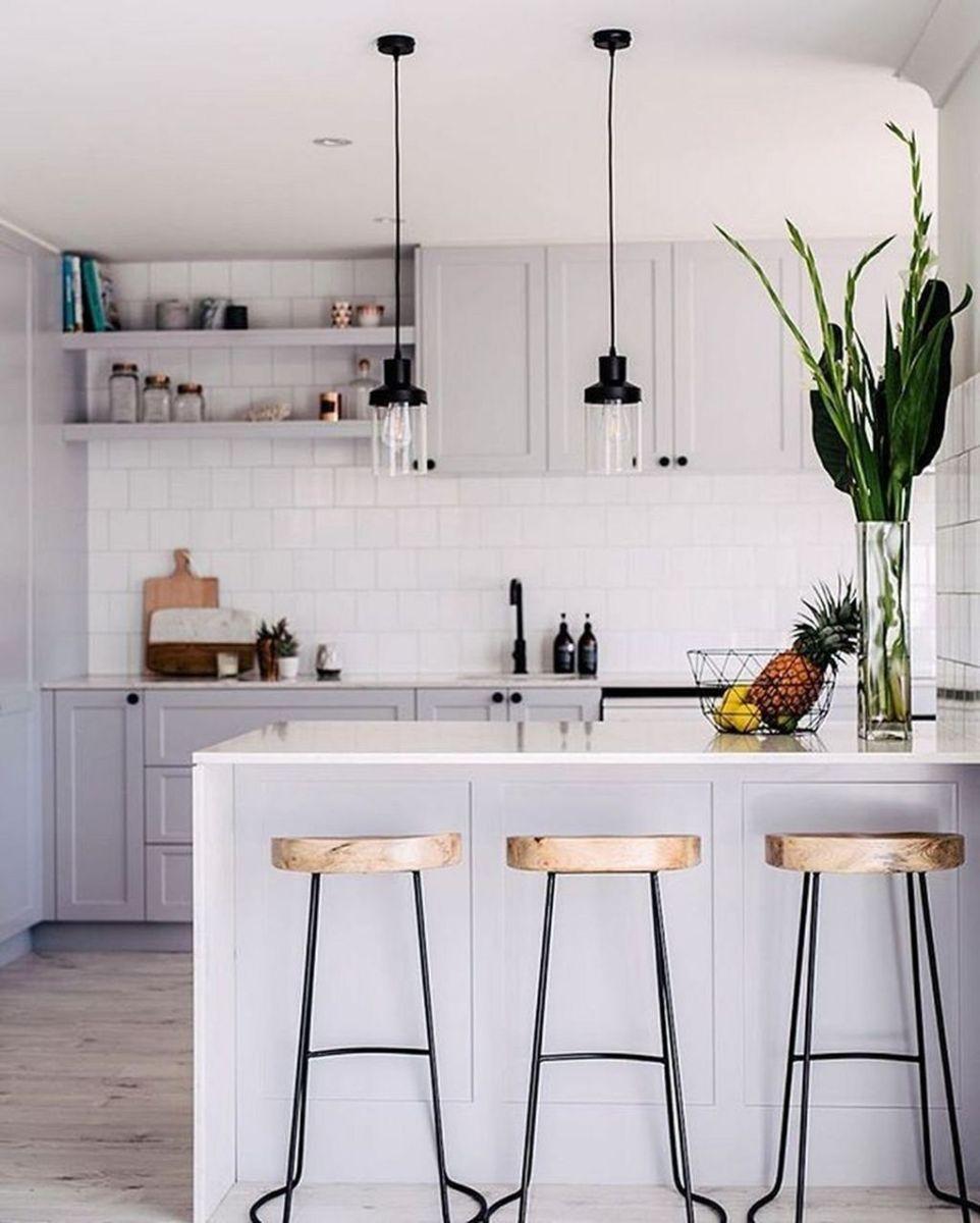 Popular Apartment Kitchen Design Ideas You Should Copy 32