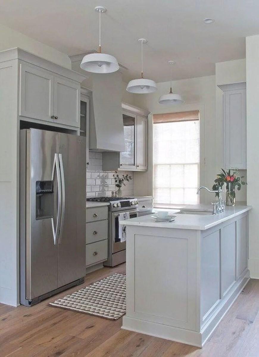 Popular U Shaped Kitchen Design Ideas 20