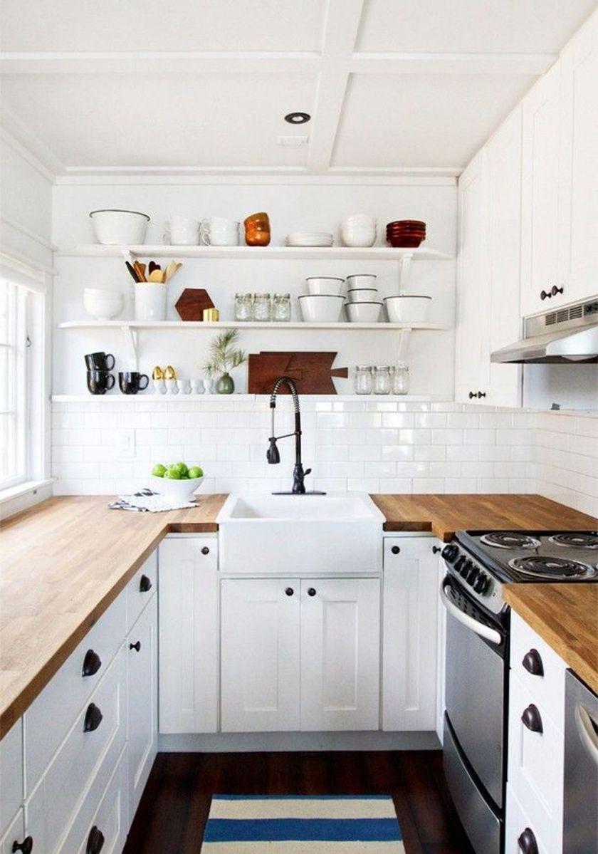 Popular U Shaped Kitchen Design Ideas 21
