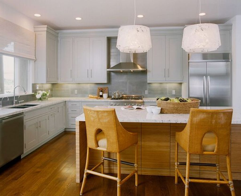Popular U Shaped Kitchen Design Ideas 26