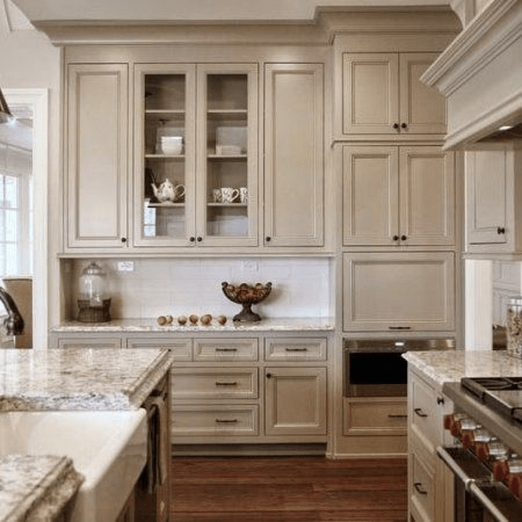 Popular Wooden Cabinets Design Ideas For Your Kitchen Decor 01