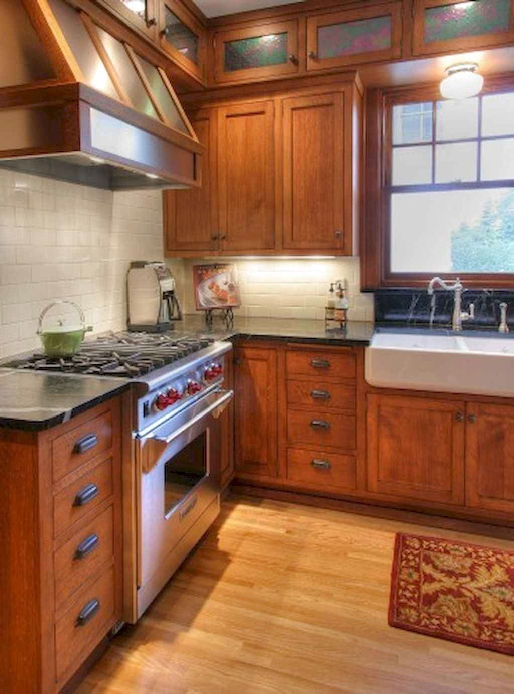 Popular Wooden Cabinets Design Ideas For Your Kitchen Decor 02