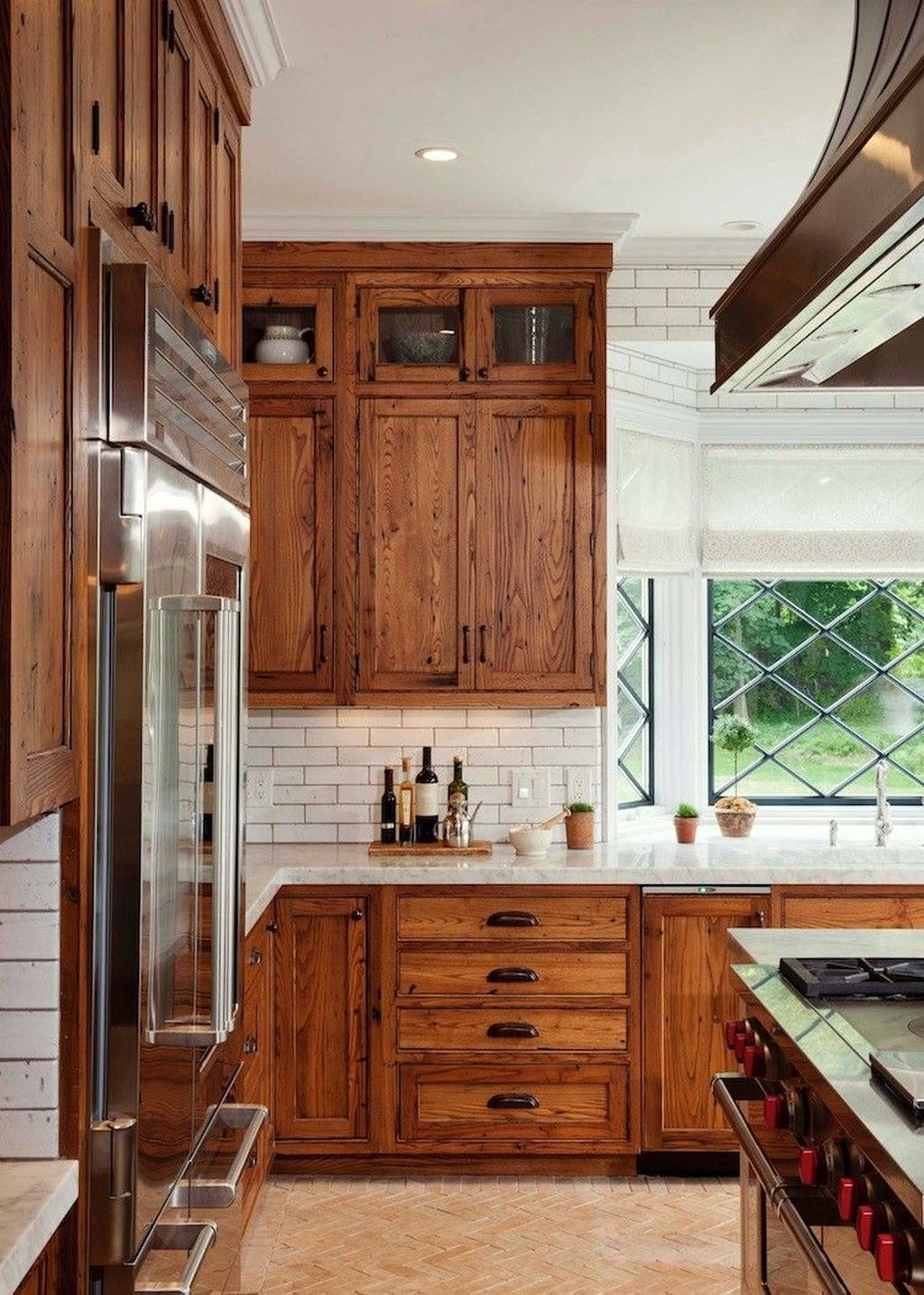 Popular Wooden Cabinets Design Ideas For Your Kitchen Decor 03