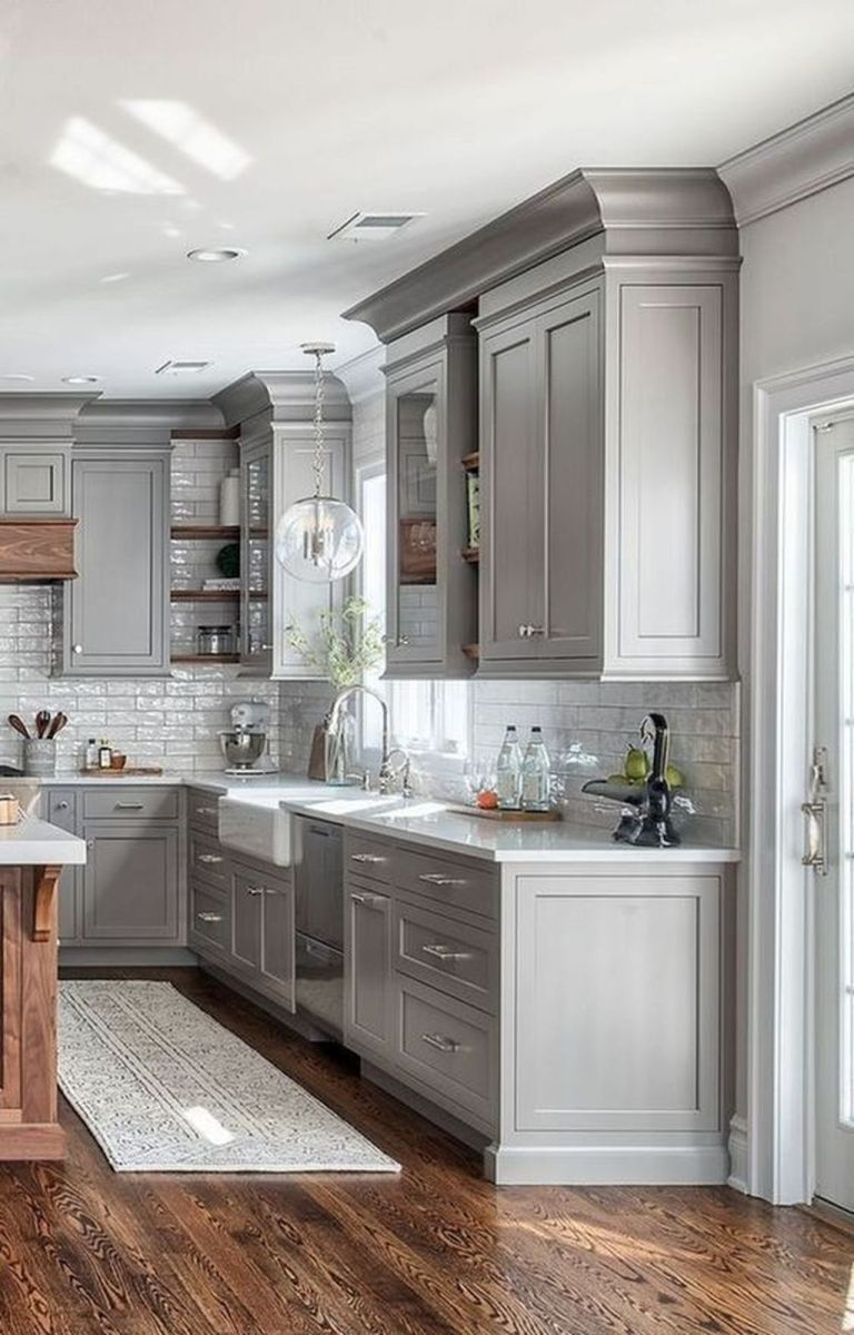 Popular Wooden Cabinets Design Ideas For Your Kitchen Decor 17