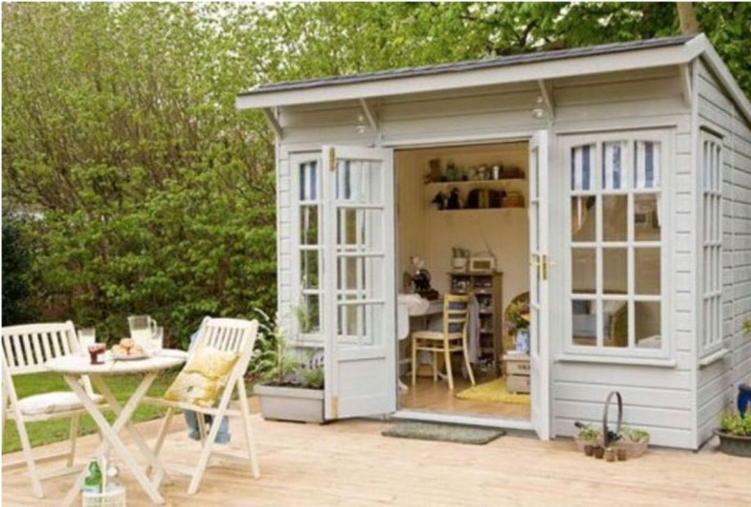 Stunning Garden Studio Design Ideas That You Definitely Like 03