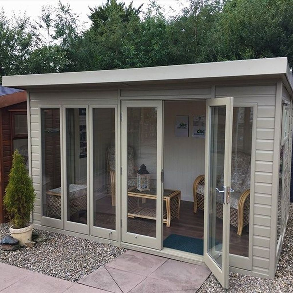 Stunning Garden Studio Design Ideas That You Definitely Like 08